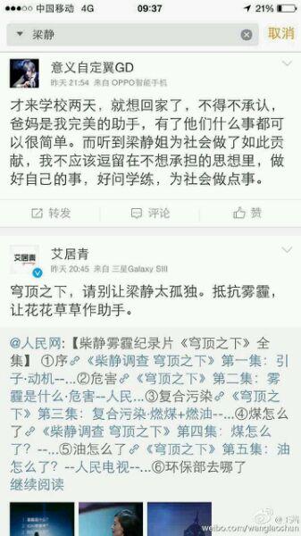 转帖:证据显示:柴静事件涉某基金会炒作已遭冷藏 - amen1523 - 雨山诗画